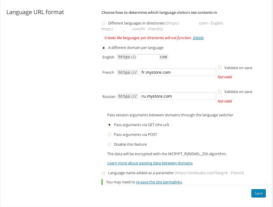Language-URL-format-WPML-not-valid