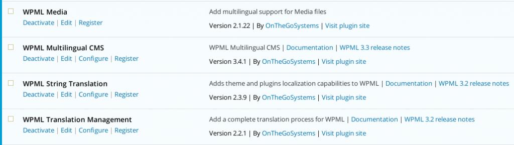 WPML plugins for multilingual store