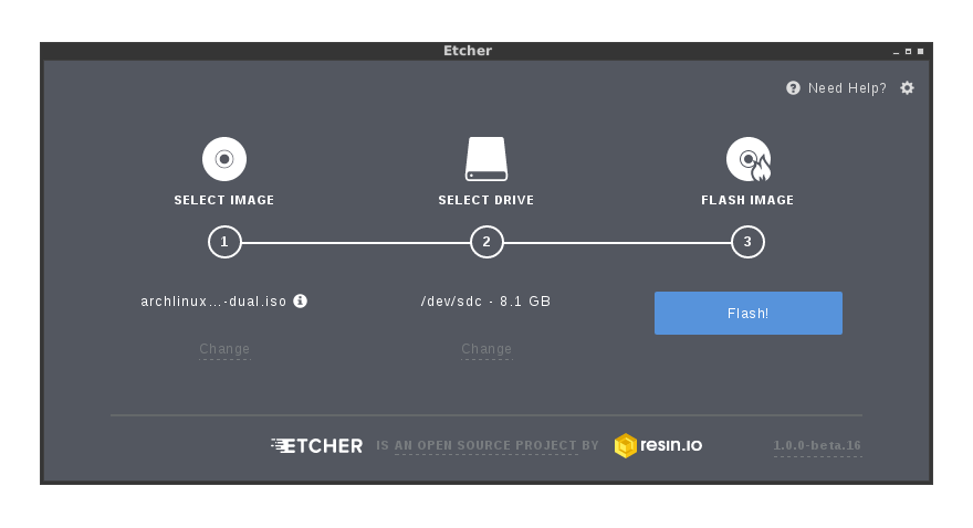 Etcher: AMAZING Unetbootin Alternative for Ubuntu/Debian/Linux