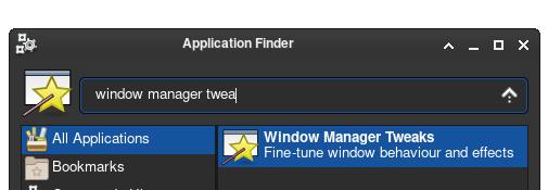 xfce Window Manager Tweaks