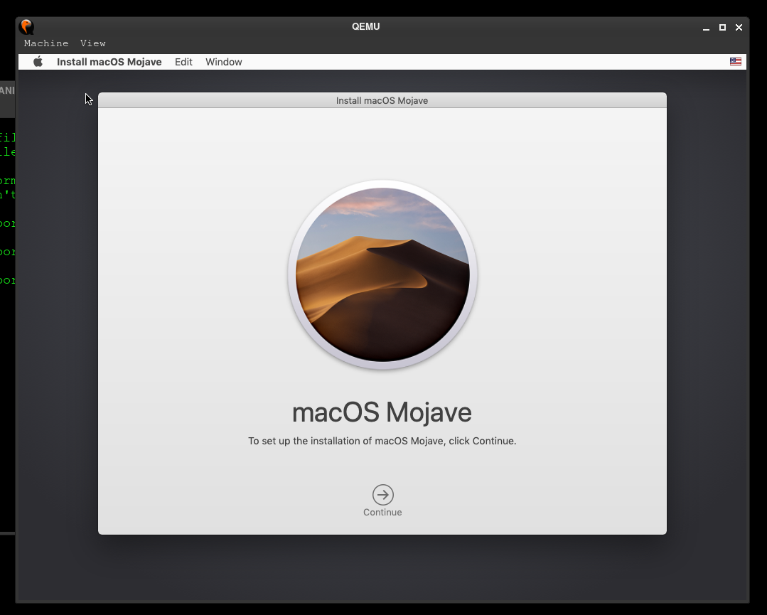 Install macOS Mojave on Arch Linux