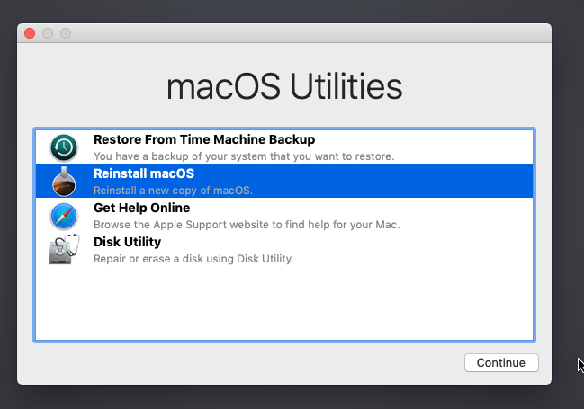 Reinstall macOS on QEMU